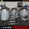 CE/ISO/UL Certificate 500L Brewery Equipment 200 Liter Hotel Brewery