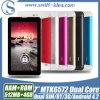 Chamada de telefone Android do PC 3G da tabuleta com SIM duplo GPS Phablet (PMD724J)
