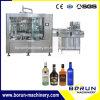 Автоматическая стеклянную бутылку водки Балтика виски розлива машина/производственной линии