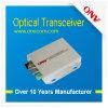 1 de Optische Zendontvanger van CH hD-Sdi - de de Optische Zender en Ontvanger van de Vezel. Compatibel systeem met hD-Sdi/Sdi/Signaal Asi (onv-t/rhdsdi-s)