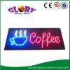 Sinal aberto LED / Sinal aberto de café / Sinal de luz LED