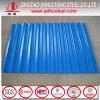 Hoja de acero prepintada acanalada color vendedora caliente del material para techos