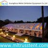 Tente transparente extérieure de luxe bon marché 15m*50m de 600 événements de personnes