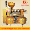 Yzlxq140 de Dringende Machine van de Olie van het Raapzaad met de Filter van de Druk van de Lucht