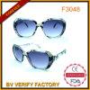 Verres de lunettes de soleil designer de mode de cadres pour les femmes