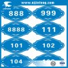 Étiquette de collant de corps de moto de véhicule de prix concurrentiel