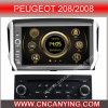 Reproductor de DVD especial de Car para Peugeot 208/2008 con el GPS, Bluetooth. (CY-7191)