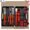 Edelstahl 18PCS BBQ Tool Set mit Wood Handle