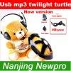 De nieuwe Muziek van de Versie & Spel van de Interface van de Schijf USB van U van de Sterrige van de Hemel van de Schemering van de Schildpad Nacht van de Constellatie het Lichte MP3 met de Adapter van de Macht (NT05)