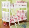純木の二段ベッドの白いベッドの高品質のベッドの子供のベッド