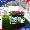 Rectángulo de acrílico transparente especial modificado para requisitos particulares de la flor del regalo