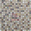 Metall Mix Rainbow Glass und Travertine Mosaic (CS183)