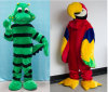L'animal en peluche de costumes pour adultes (PF16A/16B)