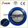 Dn150-Dn200 verdoppeln Platten-Oblate-Typ hydraulisches Rückschlagventil CF8m