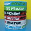 Wristband del silicone di senso di stile uno di modo