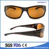 Gafas de sol modificadas para requisitos particulares OEM del color de la tortuga de la promoción de la marca