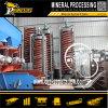 Gold Ore Mineral Concentration Equipment Máquina de separación de oro con espiral de gravedad