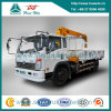 Cdw 4X2 camion della gru montato 3 tonnellate