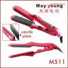 Il titanio placca il ferro piano dei capelli del LED di Styler dei capelli dei capelli professionali del raddrizzatore