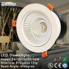 高い発電の熱放散LED調節可能なDownlights (QD09-P12W-A1)