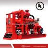 Pompe à eau Emergency de lutte contre l'incendie de liste d'UL avec le moteur diesel