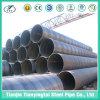 Tubulação de aço soldada espiral para o petróleo ou o gás