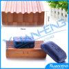 Contenitori personalizzati cassetto di bambù libero di sapone di marchio del sapone del piatto di sapone