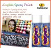 Paint Graffiti, acrílico pintura de aerosol, Valve Mujer pintura en aerosol, pintura del artista del aerosol