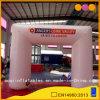 Arco gonfiabile esterno bianco Enterance per la celebrazione (AQ53139)