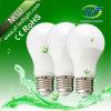ampoule globale de 640lm E27 B22 avec l'UL de la CE SAA de RoHS