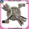 Divisa del Pin de metal con el grabado de la insignia 3D