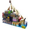 Design fantástico Big Indoor Plastic Playground para Kindergarten Kids