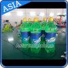 Раздувная модель бутылки питья, бутылка PVC рекламы полного цвета