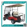 4 de Kar van het Golf Seater, de Zetel van de Tik Wifh, Vouwbaar Windscherm, 6 StandaardKleur, Snelheidsmeter