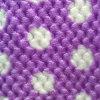 100% polyester jacquard imprimé de flanelle imprimé Honeycomb molleton polaire