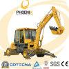 Hot Sale 4.5Tons Weichai Petite pelle hydraulique avec moteur de roue