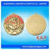Shaped su ordinazione Medal con Logo Enamel Gold Metal Medal