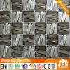 Il nuovo disegno geometrico argento e nero mosaico di vetro (H638002)