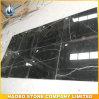Mattonelle di marmo Polished di Nero Marquina per la pavimentazione ed il muro