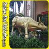 304 grandi sculture animali moderne su ordine dell'acciaio inossidabile