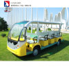 Мото Электромобиль электро транзита 14 ученика реверсом для Sight-Seeing со стороны пассажира