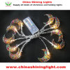 10のLEDの金属の月の装飾電池ライト