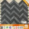 Enclavamiento gris Mixta cuerpo a todo color Porcelana Mosaico (W9527003)