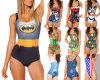 Sexy 2018 fashion personalizada OEM personalizados impressão por sublimação térmica Swimsuit um pedaço calções de banho para meninas