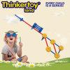 Brinquedo plástico da instrução de DIY para brinquedos plásticos do bloco das crianças