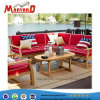 Teca moderno sofá Exterior Juegos con silla y mesa popular en el mercado europeo