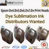 Epson Dx4のための昇華インク。 Dx5. Dx6. Dx7. Dx8印字ヘッド