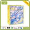 Sacs en papier enduits de cadeau d'art de jaune de lune d'étoile