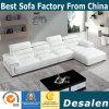 Оптовая цена l софа фабрики формы самомоднейшая кожаный (8019)