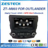 Automobile radiofonica automatica DVD di Zestech per il Outlander 2006-2012 del Mitsubishi